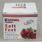 Fusskraft Soft Feet gránátalmás vaj 100ml