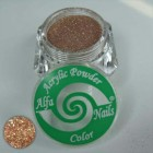Glitter Powder Dark Copper 7gr